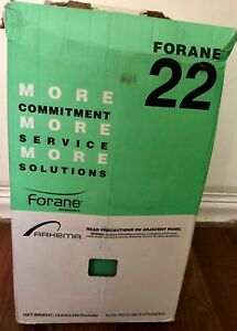 R 22 Freon Refrigerant Full 30 Lb Brand New Factory Sealed