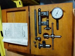 Starrett 196 Dial Indicator With Wooden Box