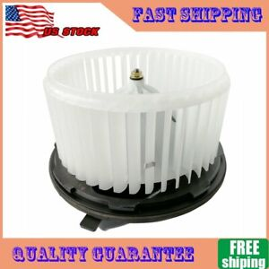 A C Heater Blower Motor W Fan Cage For Chevrolet Gmc Cadillac Hummer