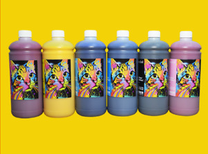 Super Quality Sublimation Ink For Epson Mimaki Roland Mutoh Printer 6color set