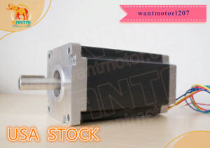 Usa Free 1pc Nema42 Stepper Motor 110bygh201 001 8a 201mm 4200oz in Engraving