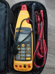 Fluke 773 Milliamp Process Clamp Meter New Condition Scr Prot Soft Case