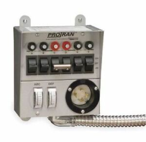 Reliance Controls 30216a Pro tran 6 Circuit Power Transfer Switch