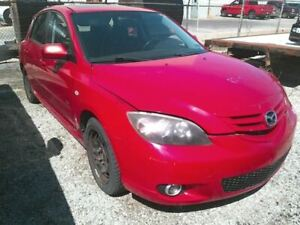 Trunk hatch tailgate Hatchback With Spoiler Fits 04 06 Mazda 3 975396