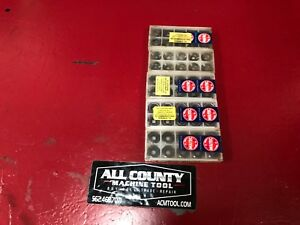 5 Box Lot Of 10 Various 3 8 Carbide Cutting Inserts 8 Carbide Inserts Free
