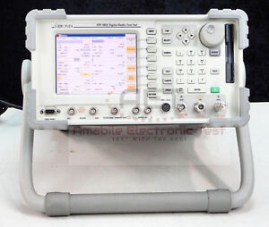 Aeroflex Ifr 3902 2 7 Ghz Advanced Radio Test Set Loaded With Options Cal d
