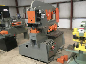 Scotchman Ironworker Hydraulic 110 Tons Capacity