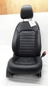 2013 2014 Ford Fusion Right Black Leather Heated Seat 5768