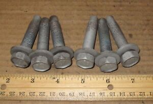 2002 2009 Dodge Ram 1500 2500 Pickup Bed Mounting Bolts Hardware Set Of 6 Oem
