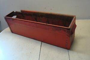 Case 1370 Tractor Battery Tray Box