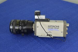 Hitachi Kp d50 Color Digital Camera Kp d50u W Rainbow Tv Zoom Lens H6x8 8 48mm