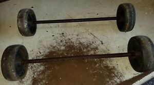 Maytag Small Engine Truck Cart 6 Wheels Axle Hit Miss Engine original