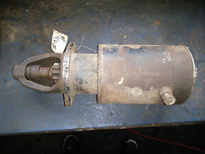 Tractor Starter 1863472 Bench Tested Ford Farmall Case Deere Chalmers Moline