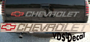 454 Ss 454ss Chevrolet Early Model Tailgate Decal Sticker 1990 1991