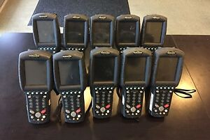 Lot Of 10x Datalogic Falcon 4420 Barcode Scanner P n 951201105 No Batteries