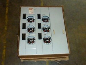 Ge Modular Metering Mini Mod Iii Tmmr6612rf 1ph Phase 3 Wire 120 240v Volts New