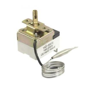 Uxcell 1nc 1no Ac 250 16a 50 300c Temperature Control Switch Capillary