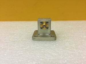Omni spectra 2000 6255 00 12 4 To 18 Ghz Waveguide Coax Adapter Tested