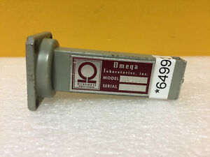 Omega Laboratories 648 8 2 To 12 4 Ghz Wr 90 Termination Load Tested
