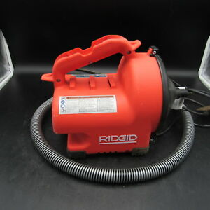 Ridgid 34963 Drain Snake Tools power Vb