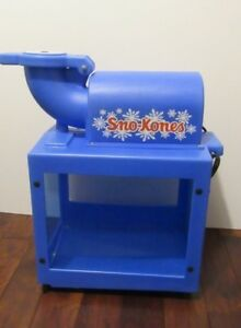 Sno king Model 1888 Snow Cone Machine Table Top Works Great
