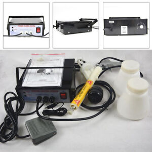 Portable Powder Coating System Paint Spray Gun Kit Pc03 5 110v Black Usa Stock