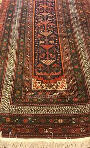 An Authentic Tribal Kurd Sanjab Rug
