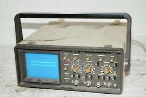 Philips Pm3206 15mhz Dual Trace Oscilloscope Portable Analog Electronics