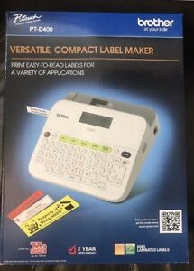 Brother Pt d400 P touch Label Maker Electronic Labeling System New