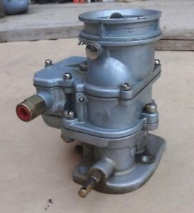 Speedway Sp 10 Stromberg 97 Style Carburetor 1934 1938 Ford Coupe Sedan Pickup