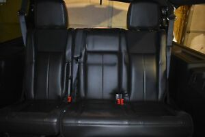 2009 2014 Ford Expedition Black Leather 3rd Row Automatic Folding Seats