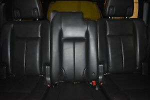 2009 2014 Ford Expedition Black Leather Heated 2nd Row Seats
