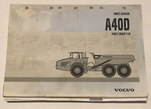 Volvo Articulated Dump Truck A40d Parts Catalog Group 5 10 Free Shipping