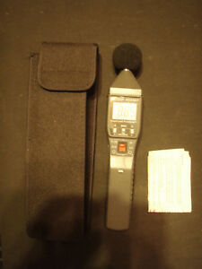 Extech Model 403407 Sound Level Meter