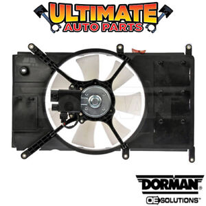 Radiator Cooling Fan With Controller 2 4l For 2000 Mitsubishi Eclipse