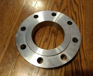 4 150 Slip On Flange 316 Stainless Steel Pipe Rfso Process Piping 4 Inch Welded