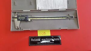 excellent mitutoyo Japan Made 12 In Absolute Digital Caliper machinist Tool t09