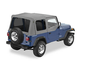 Bestop 5112309 20 Refund Replace a top Soft Top 88 95 Jeep Wrangler Yj