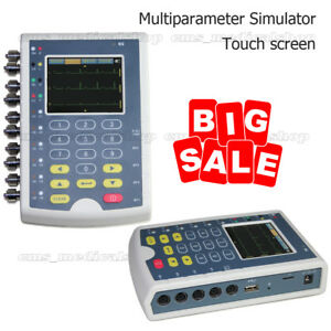 Touch Screen Ms400 Multi parameter Patient Simulator ecg Simulator