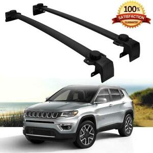 New Oe Style Roof Rack Cross Bars Cargo Bag Carrier For Jeep Compass 2017 2018