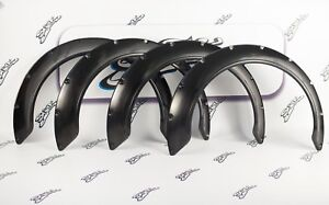 Universal Fender Flares Wide Body Kit Wheel Arches 100 Mm 3 9 Inch Abs Plastic