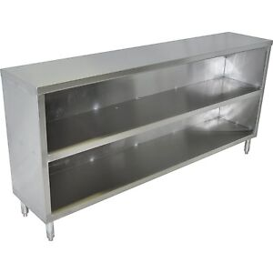 15x36 Stainless Steel Commercial Dish Cabinet
