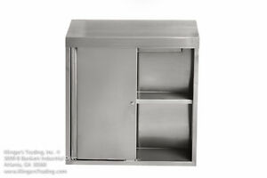 15 x60 Stainless Steel Wall Cabinet