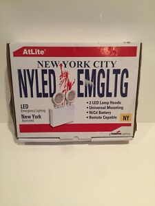 Atlite Cooper Lighting Led Exit emergency Combo Unit New York Approved