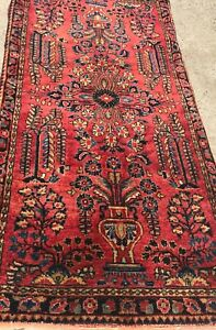 An Authentic Antique Sarouk Rug