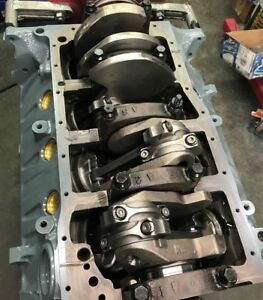 351w 408 4340 Steel Crank Ford Non Roller Short Block Race Prepped 580 Hp