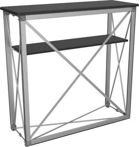 Trade Show booth traveling compact portable Display Table counter folding