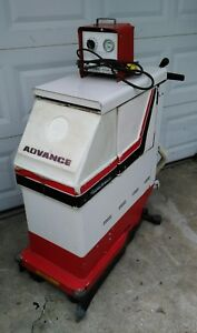 Advance Convertamatic 17 Battery Operated 24 Volt Floor Scrubber Model 17b