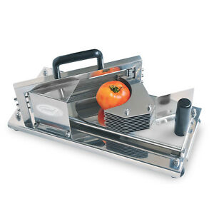 General Gts 200 Commercial Stainless Steel Tomato Slicer With Safety Guard