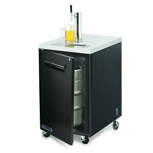 Maxx Cold Commercial 23 4 Draft Beer Cooler Kegerator 1 Keg 1 Tap With Tower